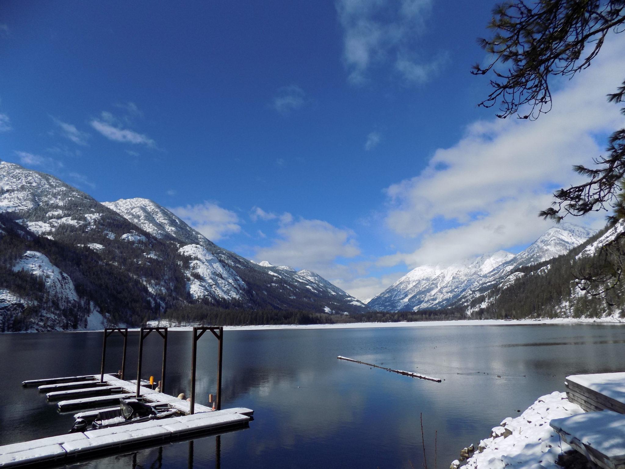 Stehekin view of Lake Chelan