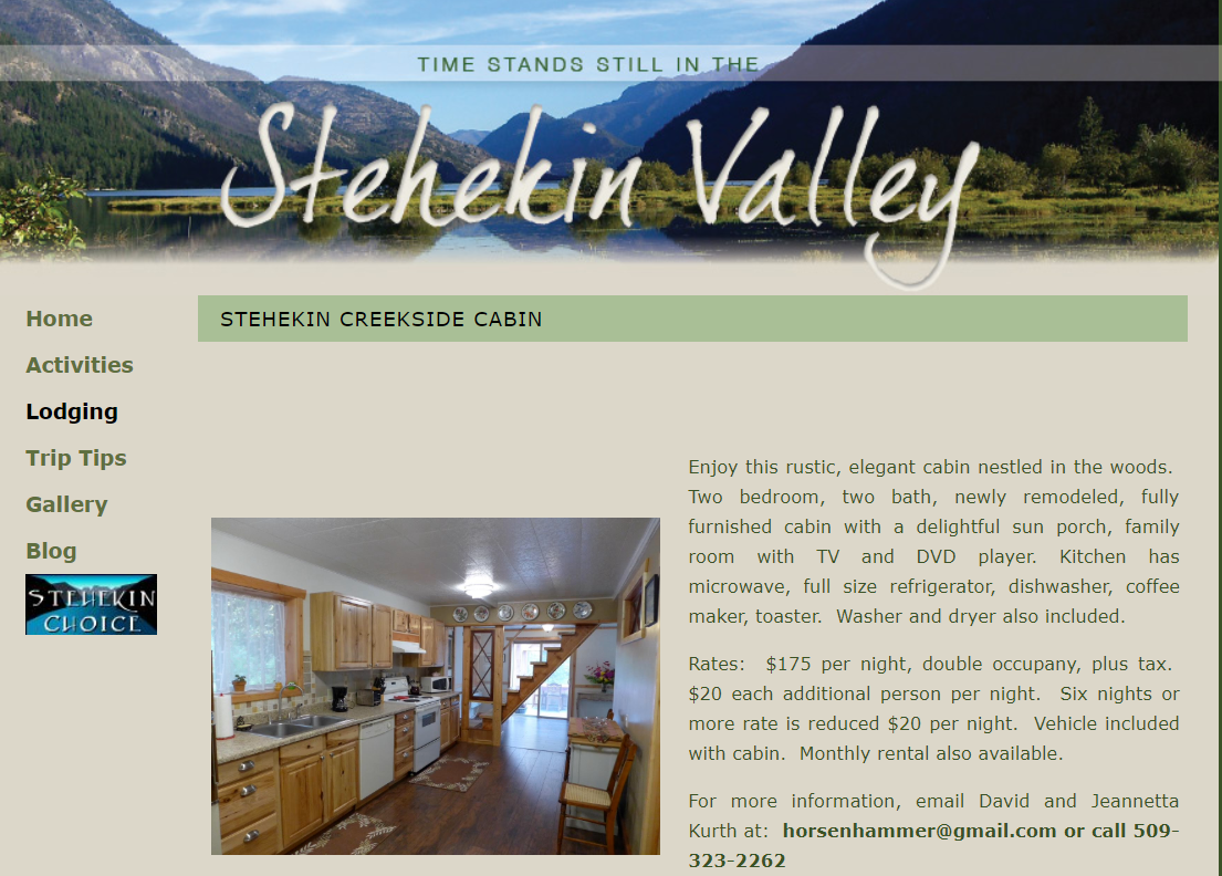 Stehekin Valley